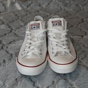Converse All Star White Sneakers Sz 10/ 12